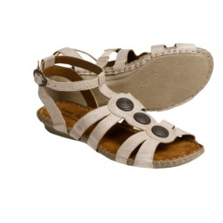 Josef Seibel Venus Gladiator Sandals - Leather (For Women) in Castoro Capri