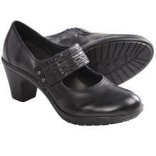 Josef Seibel Vivien 01 Mary Jane Shoes - Leather (For Women) in Black - Closeouts