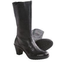 Josef Seibel Vivien 10 Boots - Leather (For Women) in Black - Closeouts
