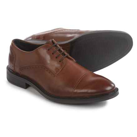 Joseph Abboud Barton Cap-Toe Oxford Shoes - Leather (For Men) in Tan - Closeouts