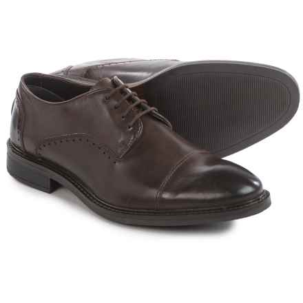 Joseph Abboud Barton Oxford Shoes - Leather, Cap Toe (For Men) in Brown - Closeouts