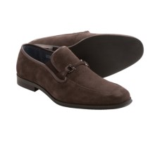 Joseph Abboud Brandon Loafers (For Men) in Chocolate Suede - Closeouts