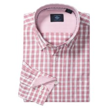 Joseph Abboud Cotton Sport Shirt - Long Sleeve (For Men) in Hibiscus - Closeouts