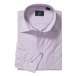 Joseph Abboud Cotton Sport Shirt - Spread Collar, Long Sleeve (For Men) in Lilac