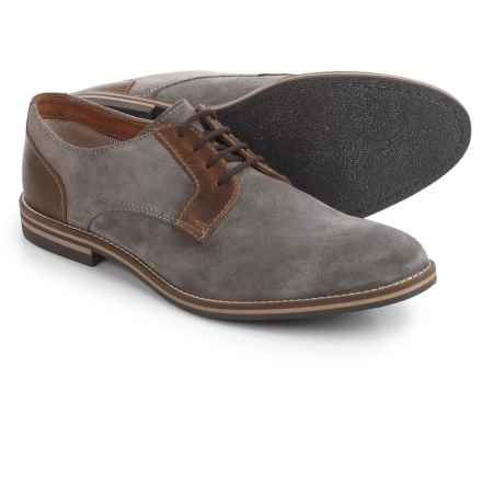Joseph Abboud Hale Oxford Shoes - Suede (For Men) in Grey - Closeouts
