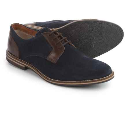 Joseph Abboud Hale Oxford Shoes - Suede (For Men) in Navy - Closeouts