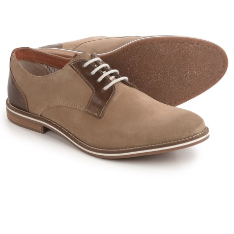 Joseph Abboud Hale Oxford Shoes - Suede (For Men) in Sand