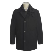 Joseph Abboud Hogan Car Coat - Insulated (For Men) in Black - Closeouts