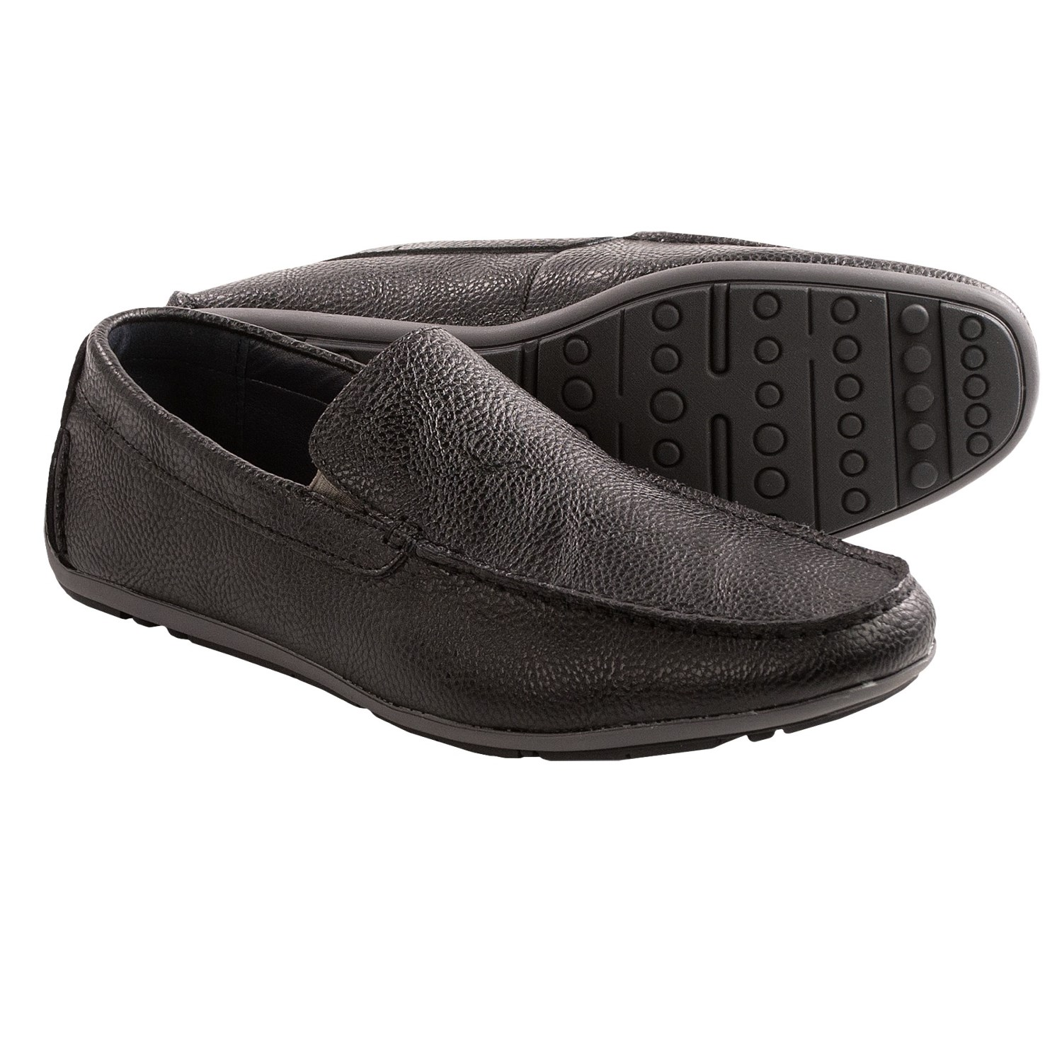joseph abboud justin shoes slip ons for in black