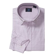 Joseph Abboud Sport Shirt - Hidden Button-Down Collar, Long Sleeve (For Men) in Lilac - Closeouts