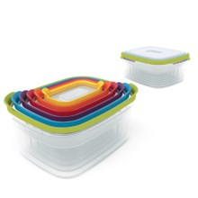 Joseph Joseph Compact Nesting Storage Container Set - 12-Piece in Multi - Closeouts