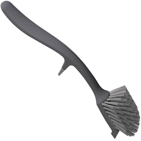 Joseph Joseph Edge Dish Brush in Grey/Grey