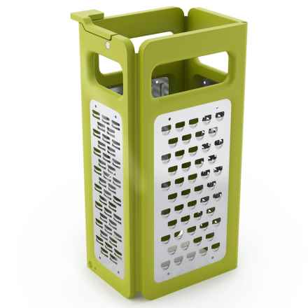 Joseph Joseph Fold-Flat Grater Plus in Green - Closeouts