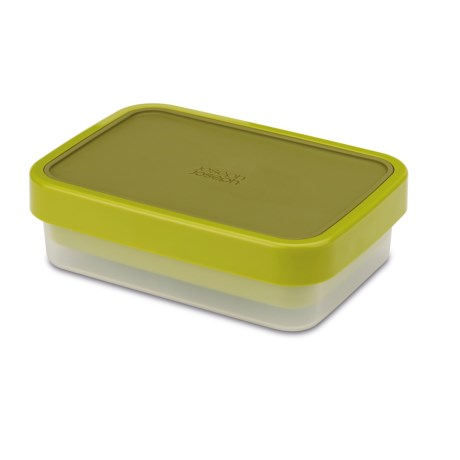 Joseph Joseph GoEat Lunch Box - 2-in-1 Compact Container in Green