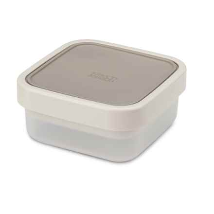 Joseph Joseph GoEat Salad Box - 3-in-1 Compact Container in Grey - Closeouts