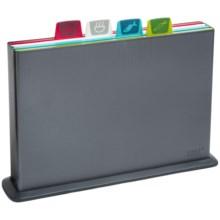 Joseph Joseph Index Cutting Board Set in Graphite - Overstock