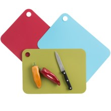 Joseph Joseph Pop Chopping Mats - Set of 3 in Multi - Closeouts