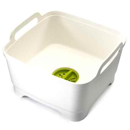 Joseph Joseph Wash and Drain Dish Washing Bowl in White - Closeouts