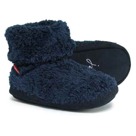 Joules Bootie Slippers (For Boys) in French Navy - Closeouts