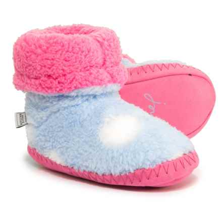 Joules Bootie Slippers (For Girls) in Sky - Closeouts