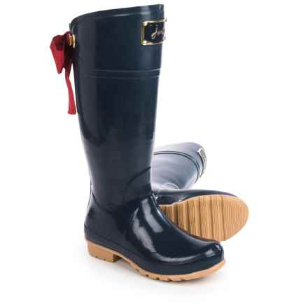Joules Evedon Premium Wellington Rain Boots - Waterproof, Factory 2nds (For Women) in French Navy - 2nds
