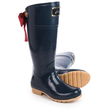 Joules Evedon Premium Wellington Rain Boots - Waterproof, Factory 2nds (For Women) in French Navy
