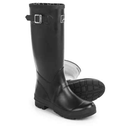 Joules Field Welly Rain Boots - Waterproof, Factory 2nds (For Women) in Black - 2nds