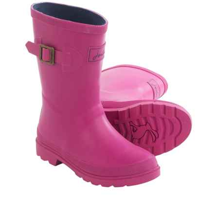Joules Field Welly Rain Boots - Waterproof (For Little and Big Kids) in Ruby - 2nds