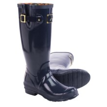 Joules Posh Welly Rain Boots - Waterproof (For Women) in Navy Gloss - Closeouts