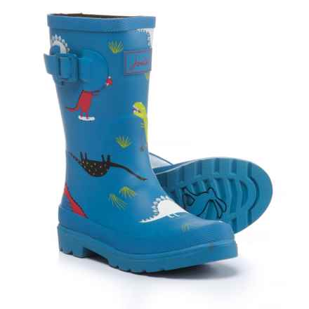 Joules Tall Skateasarus Rain Boots - Waterproof (For Boys) in Blue - Closeouts