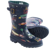 Joules Wellington Rain Boots - Waterproof (For Little and Big Kids) in Blue Diggers - 2nds
