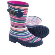 Joules Wellington Rain Boots - Waterproof (For Little and Big Kids) in Navy Multi - 2nds