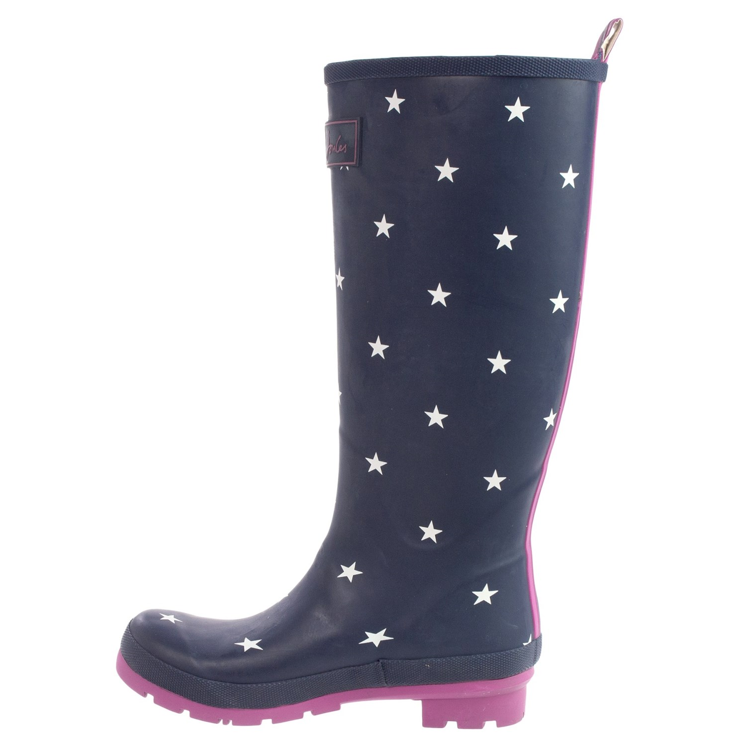Womens Patterned Rain Boots - Boot Hto
