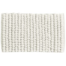 "Jovi Home Axis Cotton Loop Twist Bath Rug - 20x31"" in Cream - Closeouts"