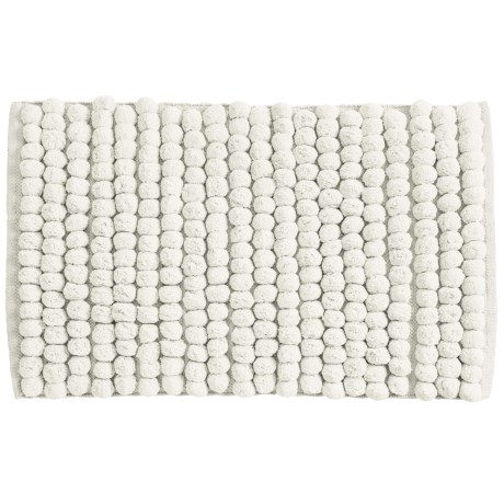 "Jovi Home Axis Cotton Loop Twist Bath Rug - 20x31"" in Cream"