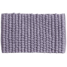 "Jovi Home Axis Cotton Loop Twist Bath Rug - 20x31"" in Heather - Closeouts"