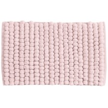 "Jovi Home Axis Cotton Loop Twist Bath Rug - 20x31"" in Soft Pink - Closeouts"