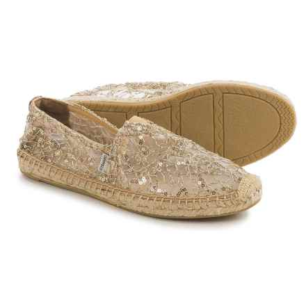 Joy & Mario Rocky Point Espadrilles (For Women) in Gold - Closeouts