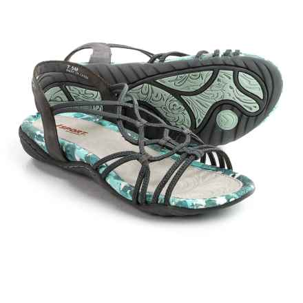 JSport by Jambu April Strappy Sandals (For Women) in Grey - Closeouts
