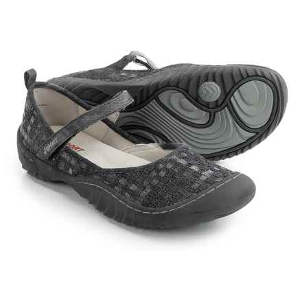 JSport by Jambu Cara Mary Jane Shoes (For Women) in Black Multi - Closeouts
