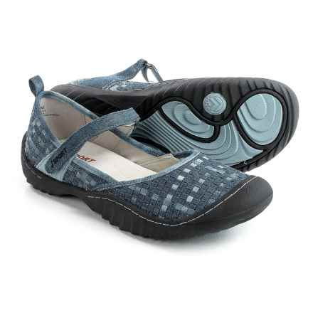 JSport by Jambu Cara Mary Jane Shoes (For Women) in Denim - Closeouts
