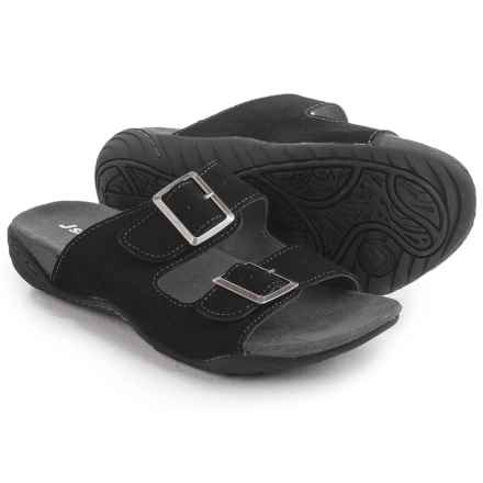 JSport by Jambu Carina Sandals - Suede (For Women) in Black - Closeouts