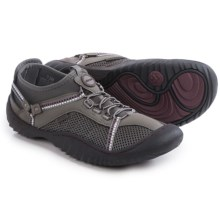 JSport by Jambu Compass Shoes - Vegan Leather (For Women) in Grey/Purple - Closeouts