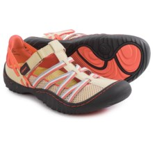 JSport by Jambu Marley Sandals - Vegan Leather (For Women) in Sand/Coral - Closeouts
