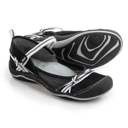 JSport by Jambu Misty Encore Mary Jane Shoes (For Women) in Black/White - Closeouts