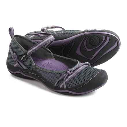 JSport by Jambu Misty Encore Mary Jane Shoes (For Women) in Charcoal/Plum - Closeouts