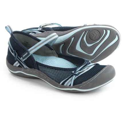JSport by Jambu Misty Encore Mary Jane Shoes (For Women) in Navy/Sky - Closeouts