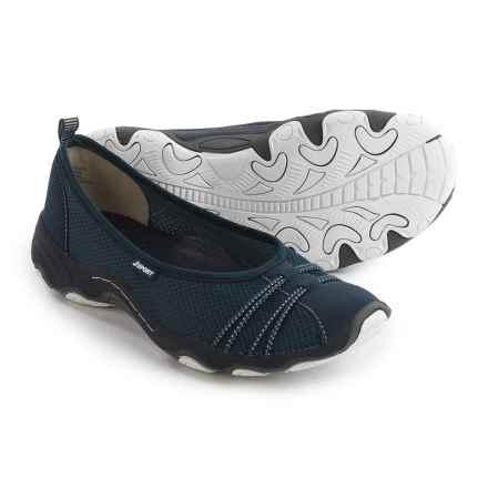 JSport by Jambu Spin Encore Flats - Water Ready (For Women) in Navy/White - Closeouts