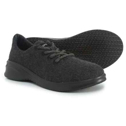 5cb5519d2b32 JSport Crane Wool Lace-Up Sneakers (For Women) in Black - Closeouts