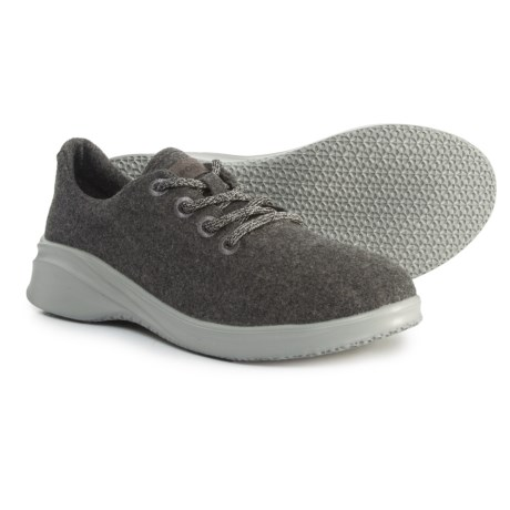 a7dda73a7 JSport Crane Wool Lace-Up Sneakers (For Women) in Charcoal